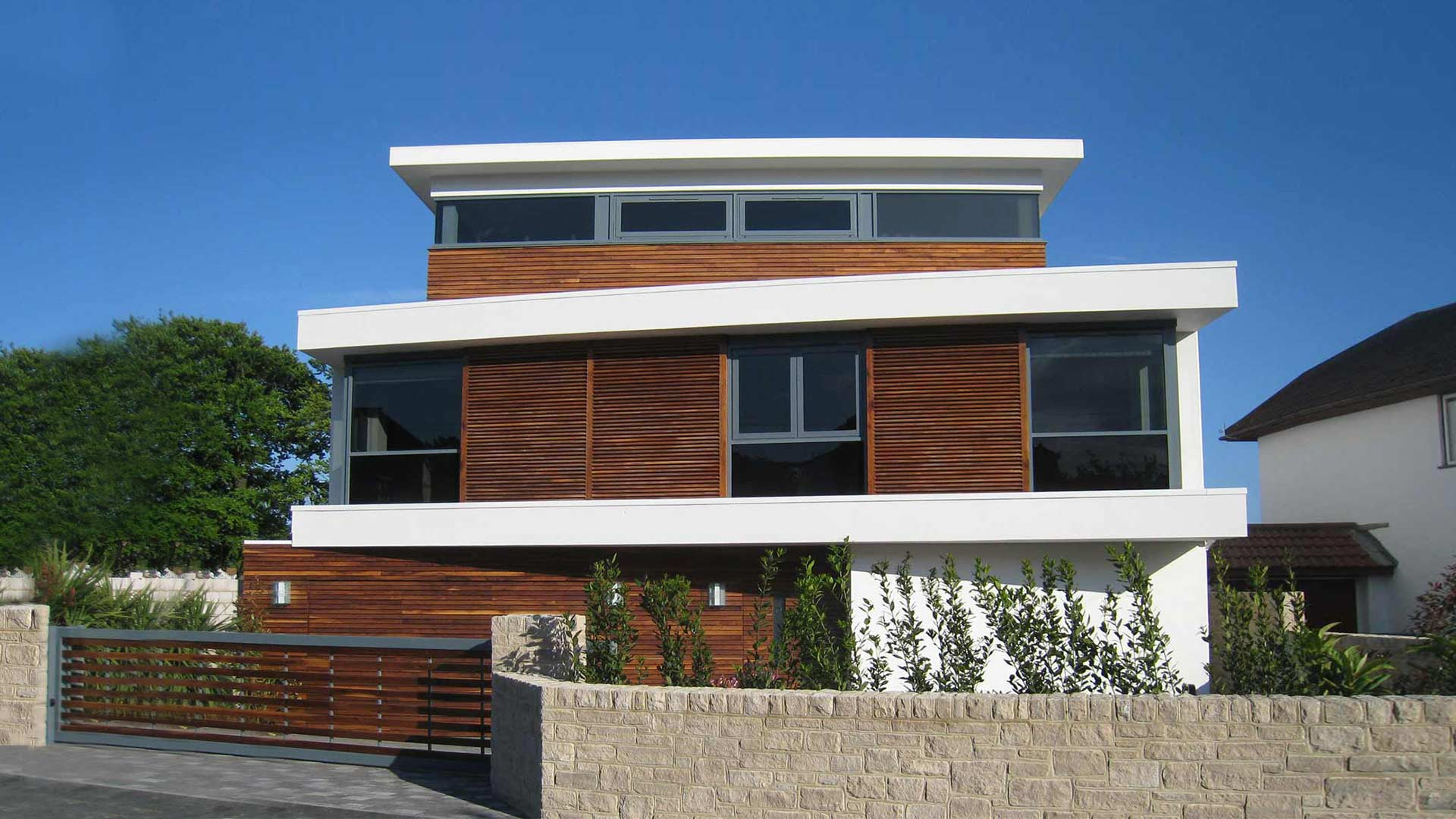 Waterside house poole harbour dorset western design - Architects poole dorset ...