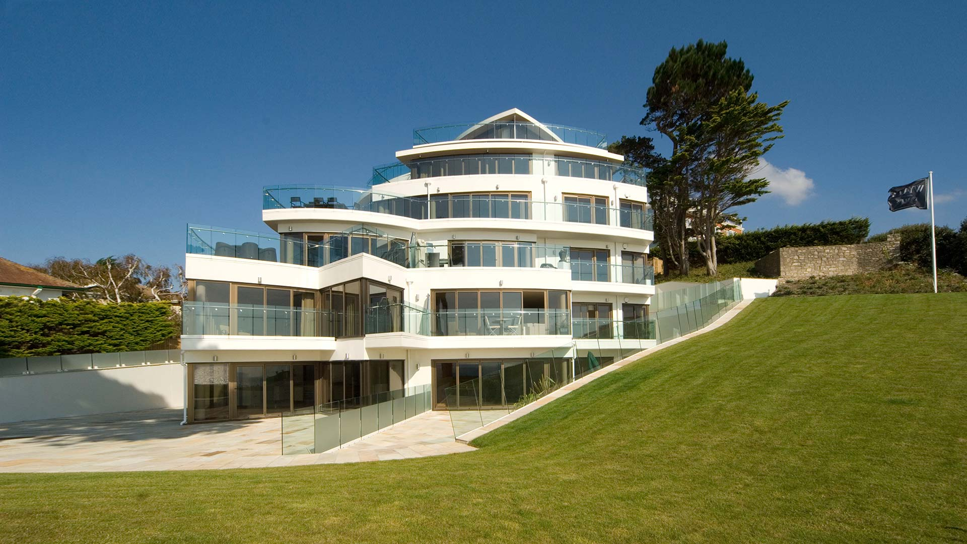 Vision unique apartment architecture sandbanks poole - Architects poole dorset ...